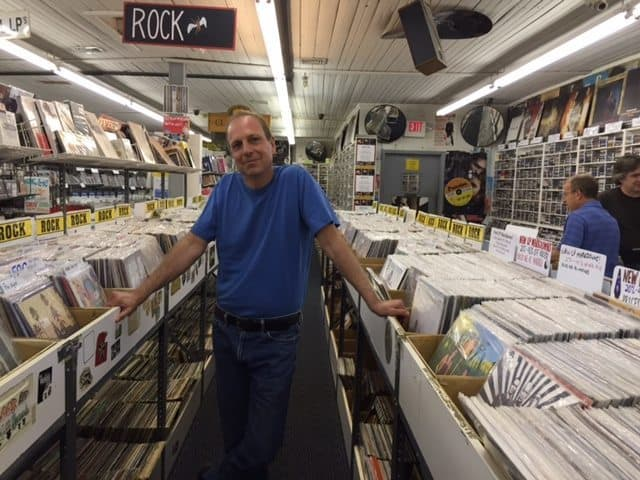 Jon Lambert is the new owner of the Princeton Record Exchange. Photo: Krystal Knapp.
